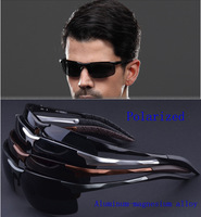 Free shipping 8177  2014 polarized driving outside sunglasses