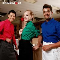 Work wear waitress uniforms checkedout work wear clothing fast food