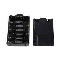 Populared AAA Radio Battery Pack Shell for BF-UV5R BaoFeng TH-F8 walkie talkie 2-way radio interphone transceiver