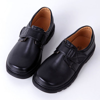 free shipping boys leather 2013 spring and autumn casual black primary school students child formal dress single shoes  for kids