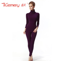 free shipping Effect 2013 women's 3060 beauty care tight turtleneck basic slim thermal underwear set