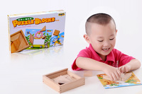 Child wooden tangoing box educational toys child gift