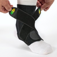 Wholesale Black Adjustable Ankle guard Superior Flexibility Ankle support Durability High quality Ankle Protector Free shipping
