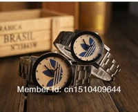 AD Free shipping, Free shipping 3 Leaf Grass Beautiful fashion watches, fashion sports watches, clocks watches