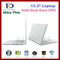 "13.3"" Super Thin Laptop, Notebook Intel Atom D2500 1.86Ghz, 4GB RAM, 640GB HDD, Windows 7, WIFI, Webcam, Mini HDMI"