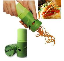 Vegetable Fruit Veggie Twister Cutter Slicer Processing Kitchen Tool Garnish New(China (Mainland))