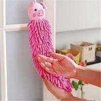 free shipping Animal wipe towel ultrafine fiber hand towel animal hand towel