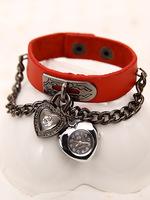 2014 New HOT Fashion Hand-Rope Women Dress Quartz Watches Vintage Punk Watch Spirally-Wound Leather Bracelets & Bangles Watch