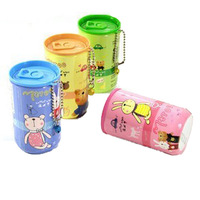 free shipping Outdoor 30 cartoon cans portable wet tissue wet wipe hand towel
