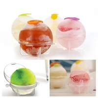 5Set/20pcs Free Shipping Hot Sale Set of 4pcs Ice Ball Mold Maker Party Bar Kitchen Ice Cube Tray Mould