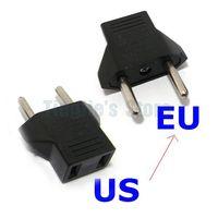 10/Lot USA US to EU Euro Plug Converter Travel Charger Adapter AC Power Plug Adapter