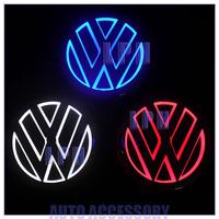 5D Aurora car logo light  for Volkswagen Tiguan  Diameter 11cm   VW Rear Light