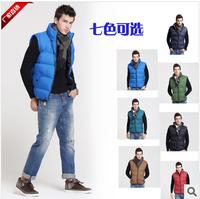NEW ARRIVAL winter men's coat fashion thick warm plus size outerwear men's sport vest S-XXL