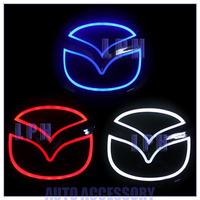 5D Aurora car badge light  for MAZDA 2 / MAZDA 3  Rear Light