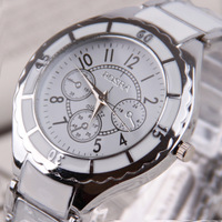 wristwatch wrist watchSupply Korean fashion watches men imitation ceramic couple models can be equipped with factory direct 1130