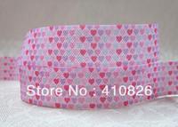 WM ribbon wholesale/OEM 5/8inch 1213009  folded over elastic FOE 50yds/roll free shipping