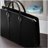 2014 Mens Fashion Korean The Heirs Style Men Business PU Leather Briefcase Messenger Bag Leather Satchel Handbags for men