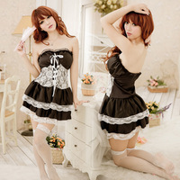 Candy honey sweet lace princess puff skirt sexy nightgown derlook