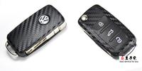 Carbon fiber vw key modified car sticker 6 suitcase polo n91