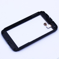 Black For Motorola Atrix 4G MB860 Touch Screen with digitizer + Frame with high quality