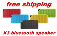 X3 Portable wireless mini bluetooth speaker portable speaker for bluetooth mobliephone support answer calling and TF card 30PCS