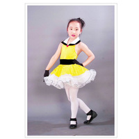 Child leotard Latin dance clothes evening dress princess dress ballet skirt 8018