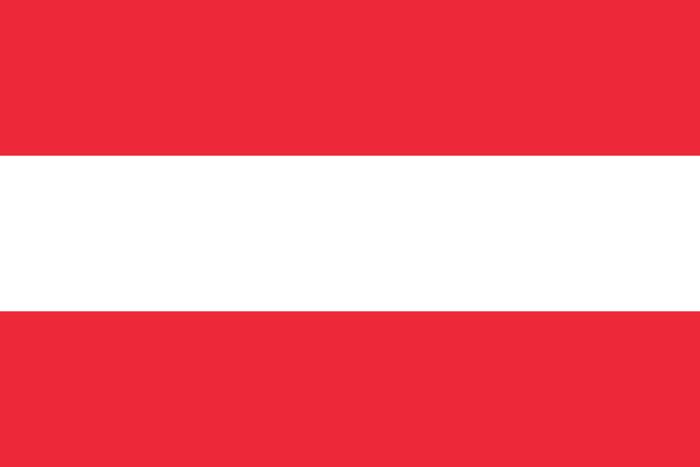 Free shipping 4# Austria flag of country polyester Austria flag & banner 3*5 feet good quality Austria national flag Austria(China (Mainland))