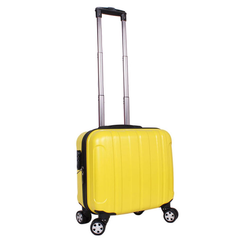 Luggage trolley luggage abs 16 universal wheels luggage bag small box double 12(China (Mainland))