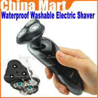 New 3D Head Men's Rechargeable Rotary Waterproof Washable Electric Shaver Razor