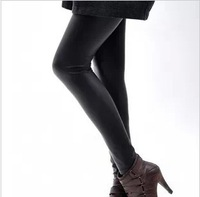 Sexy Free shipping  lady's show thin leggings for women pu legging Imitation leather wholesale K603