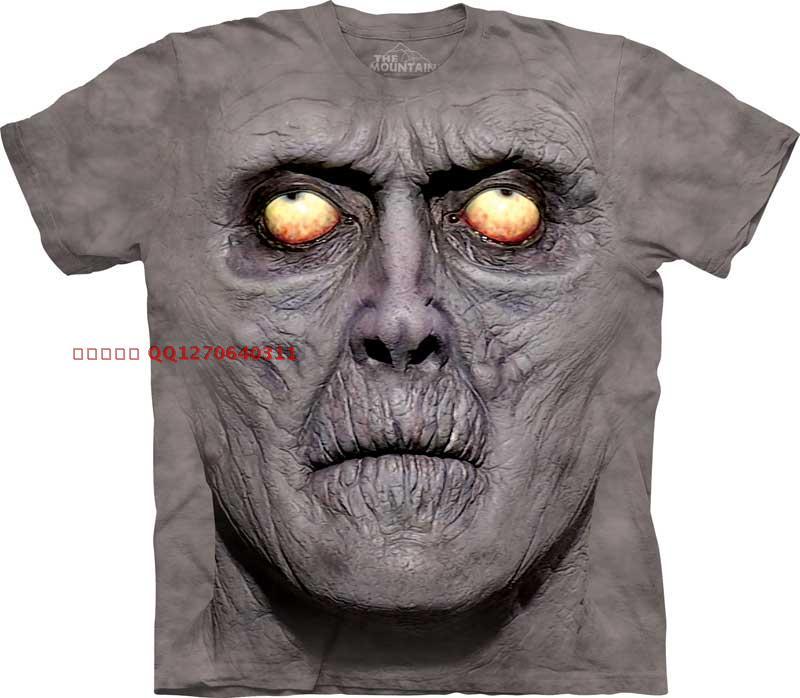 Hombres libres del envío y mujeres t 3D camisa made in ee.uu. 3D camisa de mangas cortas para hombre o-cuello de la camiseta(China (Mainland))
