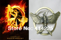 New Arrival The Hunger Games Antique catching fire brooch Pendant Good qaulity Hunger Games pin Free Shipping