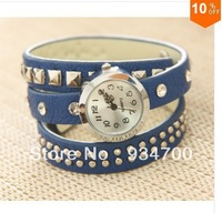 Wholesale Genuine Cow Leather Watches Leather Winding Women Watches . TOP Quality. Free shipping