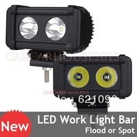 2pcs 4.5inch 20W 2000lm CREE LED Spot Beam Work Light Offroad Lamp Car Truck Boat 4WD