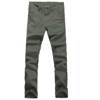 Male casual pants slim long trousers male men's trousers skinny pants male 2013 trend