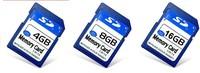 Full Capacity 4GB 8GB 16GB 32gb 64GB SD Card High Speed Professional Flash MMC Memory SD Card Digital card Free Shipping