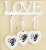 Love Combination Creative Photo Wall Heart to Heart Wooden Photo Frame Home Decoration Gift Hot Selling!