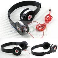 Brand New Stereo Foldable 3.5mm Jack Headset Headphone for PC MP3 MP4 PSP Black