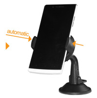 T20928a New Easy Flex Car Dashboard  mount holder/ Universal Auto Windshield Suction Phone Holder for Samsung GALAXY S4  Black