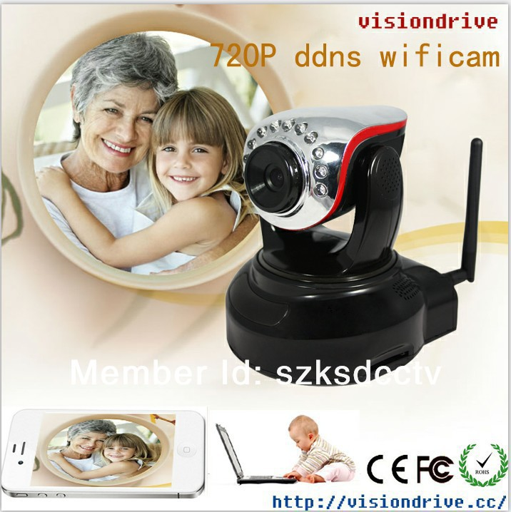 720P Onif nvr mini night vision IR LED ptz ip camera(China (Mainland))