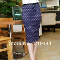 5 Colors Fashion Womens Ladies High Waist Midi Bodycon Slim Pencel Tube Stretch Skirt drop Shipping