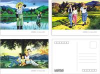 Free shipping (15 pcs/set) Hayao Miyazaki Comic-B /cartoon postcard set 14.2*10.2cm