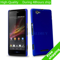 High Quality Hybrid Plastic Hard Case Cover For Sony Xperia M C1904 C1905 Free Shipping UPS DHL EMS HKPAM CPAM FN-12