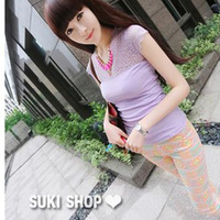 2013 slim female trousers multicolor thin all-match women's casual pants