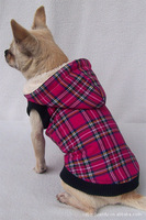 Pet wadded jacket pet clothes winter dog clothes fashionable casual outerwear dog winter clothes
