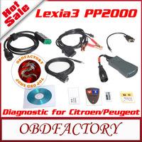 New 2014 Lexia-3 Lexia3 V47 Citroen/Peugeot Diagnostic PP2000 V25 with Diagbox V6.01 Software obd2 Auto Diagnostic Tool