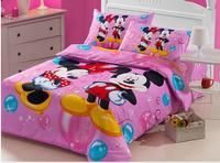 hot sell bed set/bedding sets duvet cover Bedding sheet bedspread pillowcase preferential Children Cartoon bedding sets