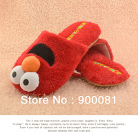 2013 New Best Gift  cotton-padded soft indoor slippers/Sesame Street Elmo cotton home shoes / house slippers Free shipping