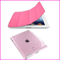 For New iPad Air Smart Case 2014 New luxury Folding Ultra Thin Magnetic Case For Apple ipad mini 2 3 4 5 Cover+Hard Back Cover