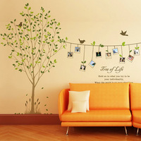 Generation wall stickers memories of the tree of life